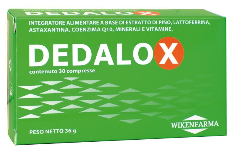 Dedalox Integratore alimentare a base di proantocianidine oligomeriche – OPCs, Lattoferrina, Astaxantina, Coenzima Q10, minerali e vitamine.